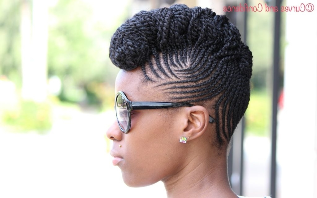 Cornrow Styles For Natural Hair – The Newest Hairstyles Pertaining To Recent Elegant Cornrow Updo Hairstyles (View 10 of 15)