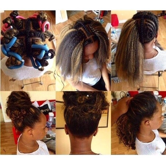 Featured Photo of Crochet Braid Pattern For Updo Hairstyles