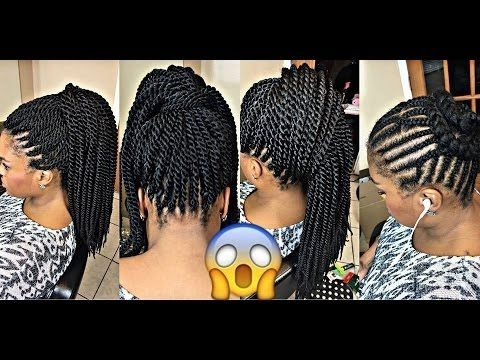 Photo Gallery Of Crochet Braid Pattern For Updo Hairstyles Showing