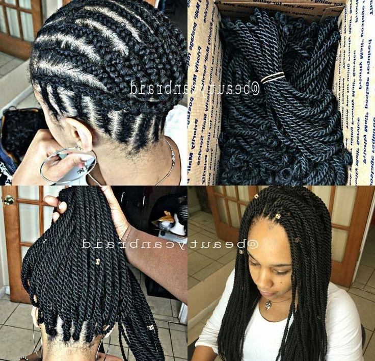 Crochet Pattern For Braid Ponytail/updos | Braid Pattern For Crochet Throughout Most Popular Crochet Braid Pattern For Updo Hairstyles (View 10 of 15)