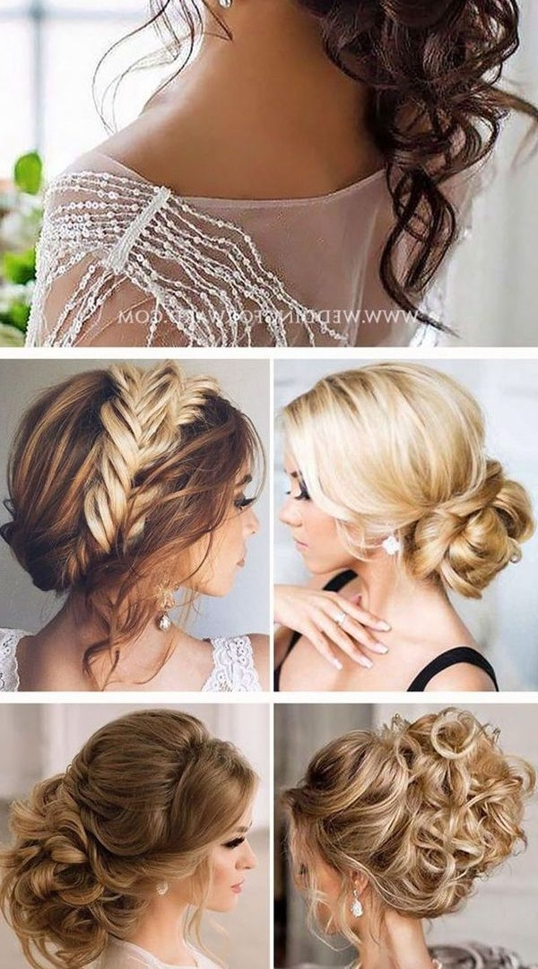 Curly Hair Impressive Hairstyles For Long Thick Updos To The Side Within Newest Easy Updo Hairstyles For Thick Hair (View 5 of 15)