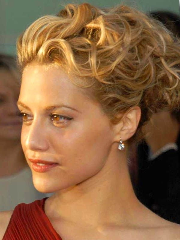 Curly Updo Hairstyles | Medium Length Hairs, Updos And Updo With Regard To Best And Newest Curly Updos For Medium Hair (View 6 of 15)