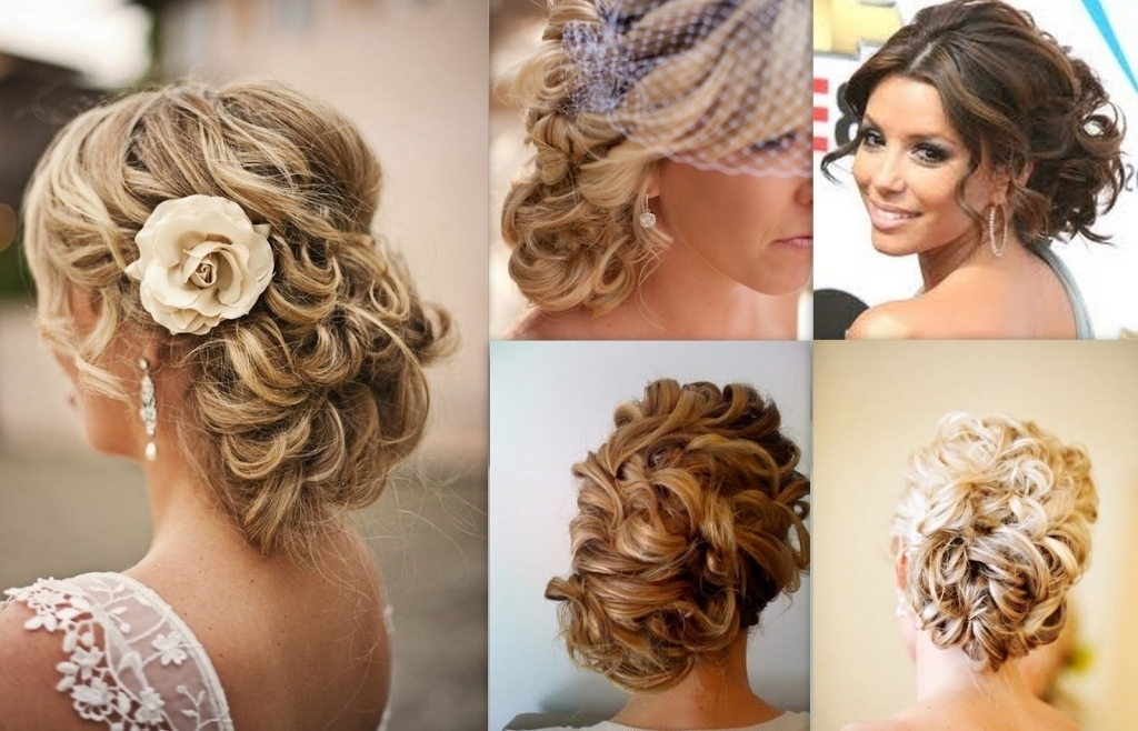 Curly Wedding Updo Hairstyles Wedding Hairstyles Updos Curly Hair Intended For Most Popular Updo Hairstyles For Long Curly Hair (View 10 of 15)