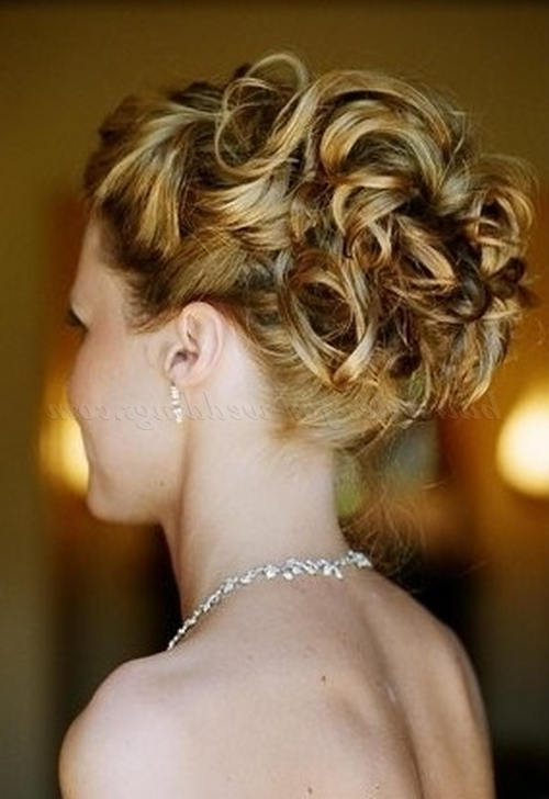 Curly Wedding Updos – Curly Wedding Hairstyle For Long Hair For Recent Curly Long Updos For Wedding (View 5 of 15)