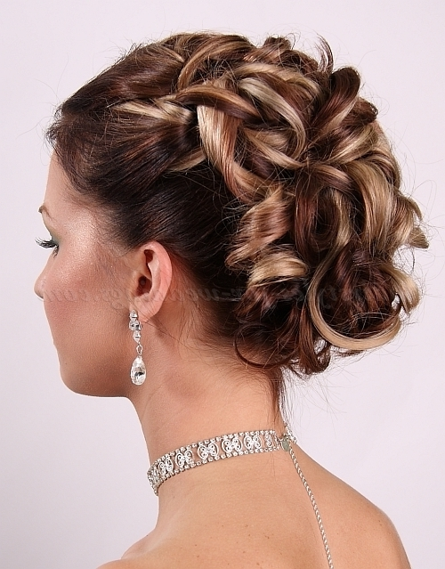 Curly Wedding Updos – Curly Wedding Updo | Hairstyles For Weddings In Most Current Bridal Updos For Curly Hair (View 7 of 15)