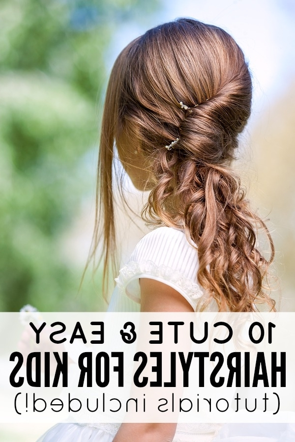 Cute And Easy Hairstyles For Kids For Most Recently Easy Updo Hairstyles For Kids (View 9 of 15)
