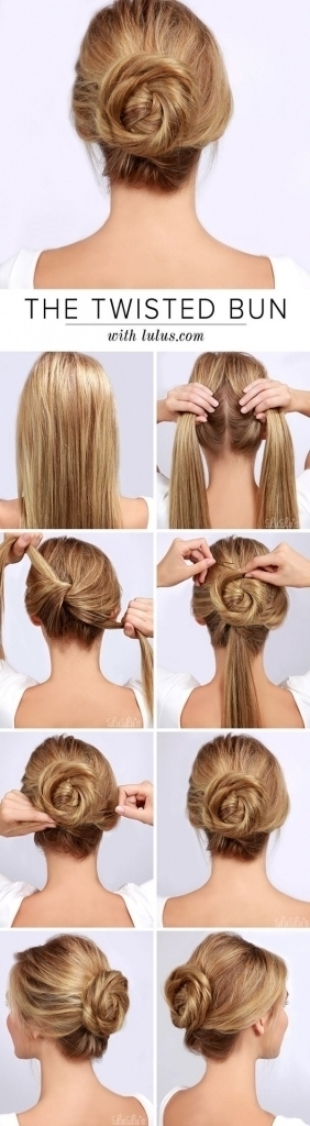 Cute Easy Updo Hairstyles For Long Hair – Popular Long Hairstyle Idea Intended For Recent Cute Easy Updo Hairstyles (View 4 of 15)