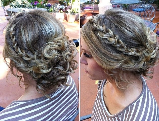 Cute Formal Buns – Google Search | Formal Hair | Pinterest | Curly Within Most Popular Curly Bun Updo Hairstyles (View 6 of 15)