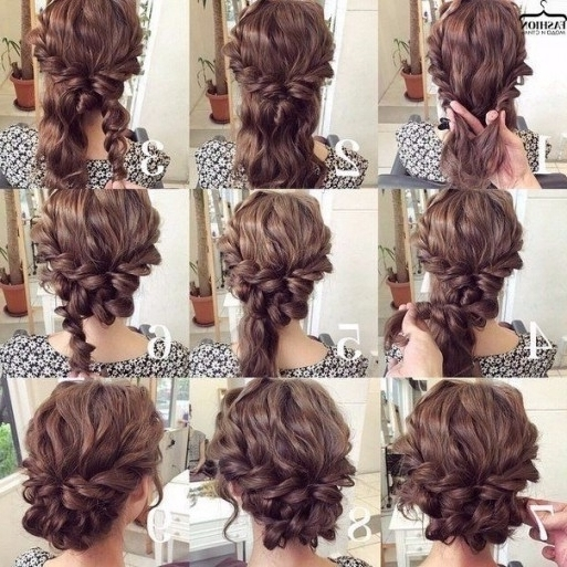 Cute Formal Hairstyles For Medium Length Hair – Hairstyles Intended For Most Recent Quick Updo Hairstyles For Long Hair (View 3 of 15)
