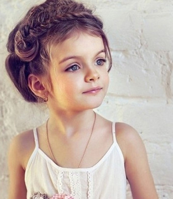 Featured Photo of Little Girl Updos For Short Hair