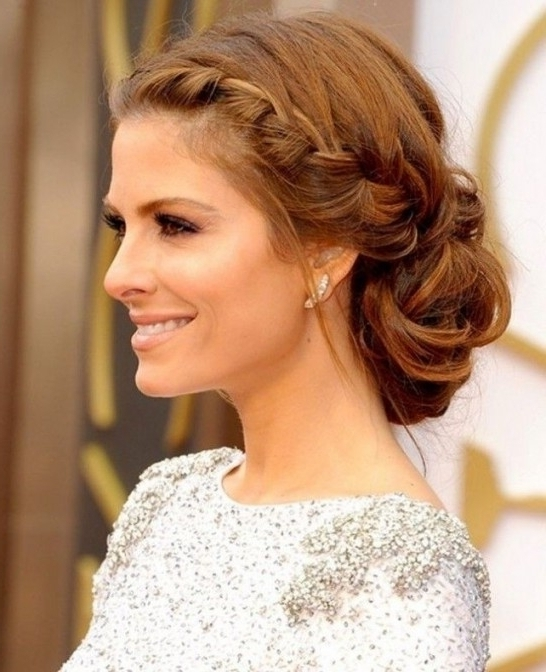 Cute Prom Hairstyles Medium Length Hair Intended For Prom Hairstyles Within Latest Formal Updo Hairstyles For Medium Hair (View 9 of 15)