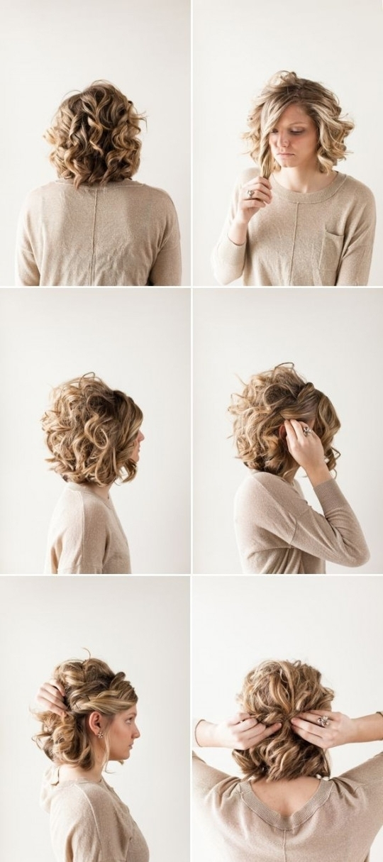 Cute Prom Updo Hairstyles 18 Pretty Updos For Short Hair Clever Pertaining To Newest Updo Hairstyles For Short Hair Prom (View 11 of 15)