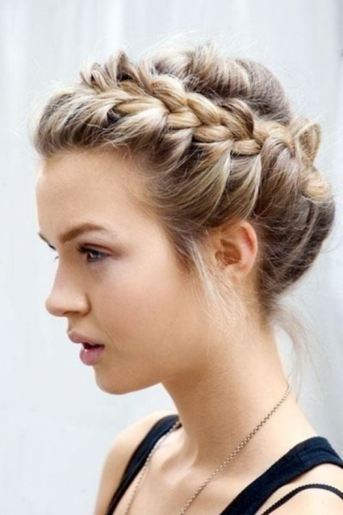 Cute Updo Hairstyles For Prom Hairstyles Simple Updos Black Hair Intended For Most Recently Cute Updo Hairstyles (View 15 of 15)