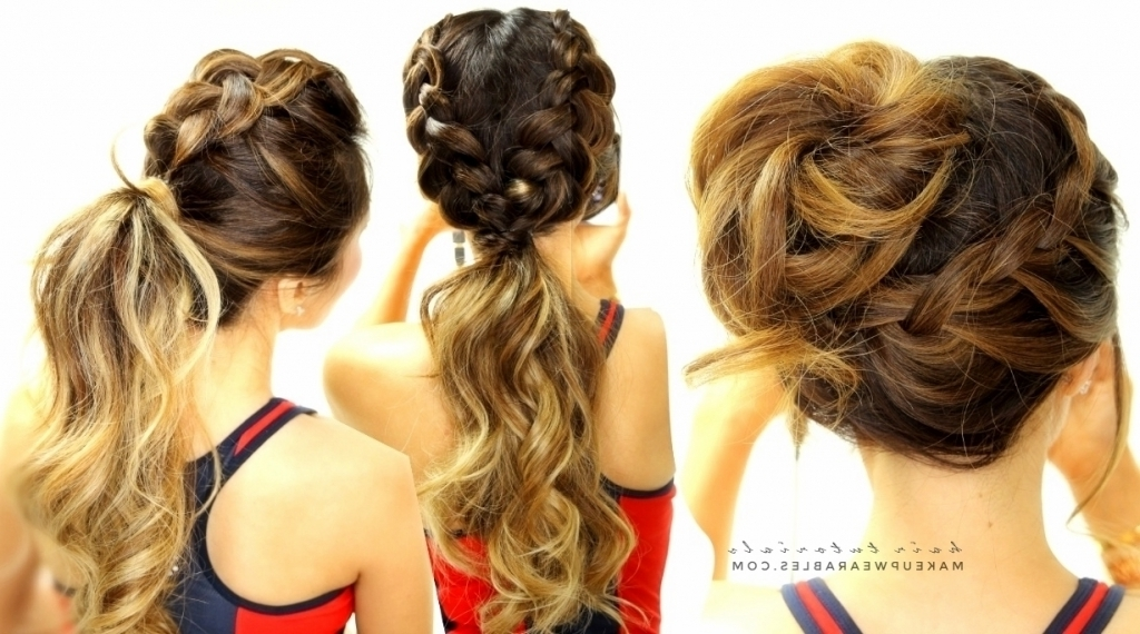 Gallery Of Updo Hairstyles For School View 11 Of 15 Photos