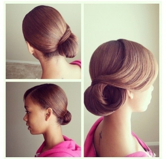Cute Updo Hairstyles For Straight Hair | Cute Hairstyle Regarding With Regard To Most Current Updo Hairstyles For Straight Hair (View 5 of 15)
