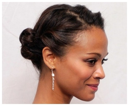 Cute Updos For Short Hair African American | Medium Hair Styles Pertaining To Latest Cute Updos For African American Hair (View 2 of 15)