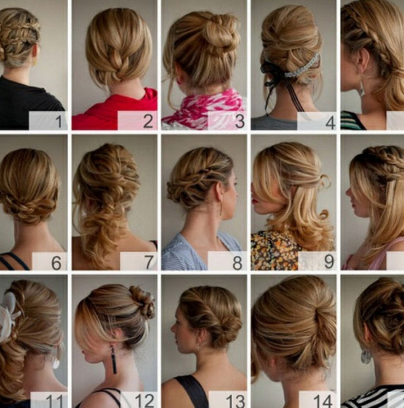 Cute Updos For Short Hair Easy Intended For Best And Newest Cute And Easy Updo Hairstyles For Short Hair (View 5 of 15)