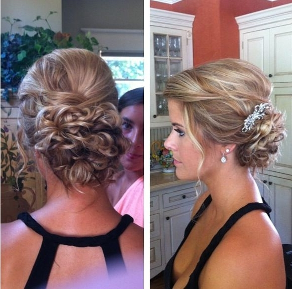 Da088Adeb7353286Aeda71960E2A5269 587×580 Pixels | Wedding With Current Cute Updo Hairstyles (View 9 of 15)