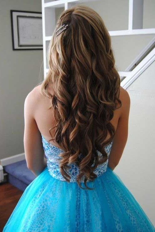 Daily Hairstyles For Formal Hairstyles For Curly Hair Best Prom With Regard To Newest Long Curly Hair Updo Hairstyles (Gallery 8 of 15)