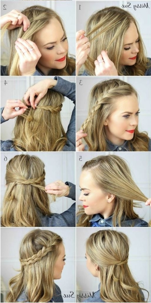 Gallery of Quick Updos For Medium Length Hair (View 13 of 15 Photos)
