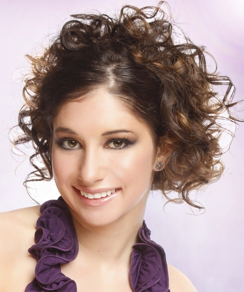 Dewi Image: Casual Updo Long Curly Hairstyles Within Most Recently Casual Updos For Curly Hair (View 10 of 15)