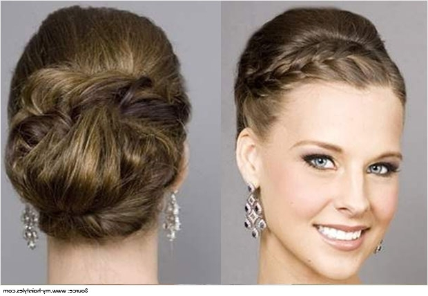 Different Hairstyles For Strapless Dress Hairstyles Cute And Intended For Current Updo Hairstyles For Strapless Dress (View 6 of 15)