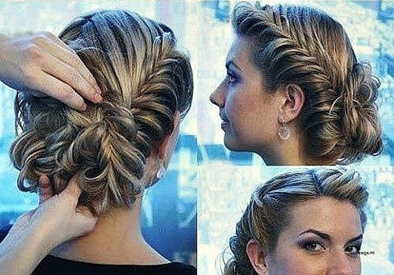 Dressy Hairstyles For Curly Hair Inspirational Updo Hairstyles Long Regarding Current Dressy Updo Hairstyles (Gallery 6 of 15)
