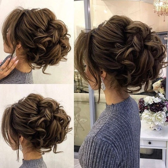 Drop Dead Gorgeous Loose Messy Updo Wedding Hairstyle For You To Get Intended For Most Current Updo Hairstyles (View 6 of 15)