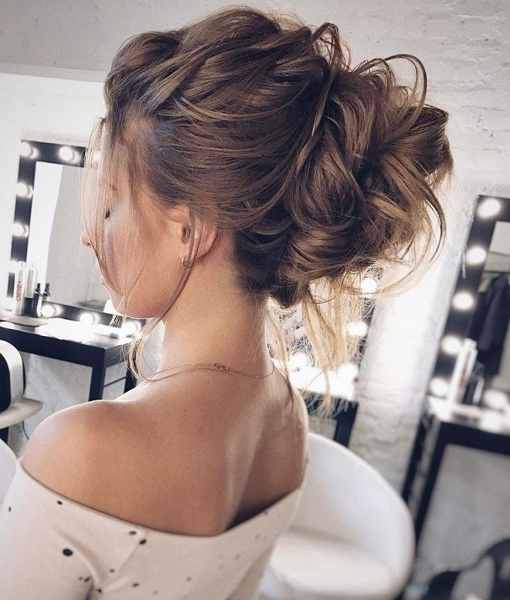 Drop Dead Gorgeous Loose Updo Hairstyle | Messy Wedding Updo, Messy Within 2018 Loose Updo Hairstyles (View 13 of 15)