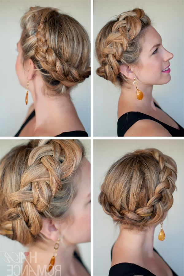 Dutch Crown Braid Updo – Most Popular Braided Hairstyle For Summer Inside Current Braided Crown Updo Hairstyles (View 3 of 15)