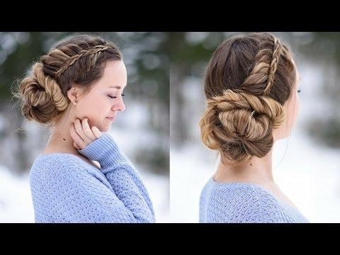 ? 3 Cute Af Summer Hairstyles | Girls Updo Hairstyle In 2018 Cute Girls Updo Hairstyles (View 7 of 15)