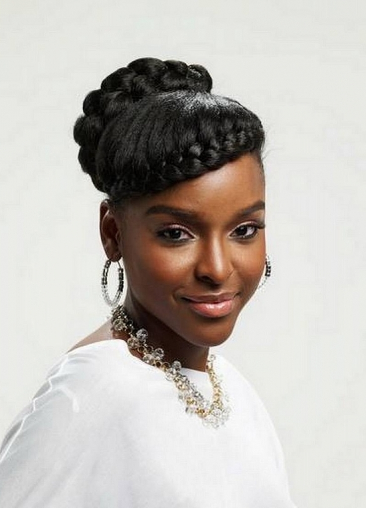 View Gallery Of Afro American Updo Hairstyles Showing 14 Of 15 Photos