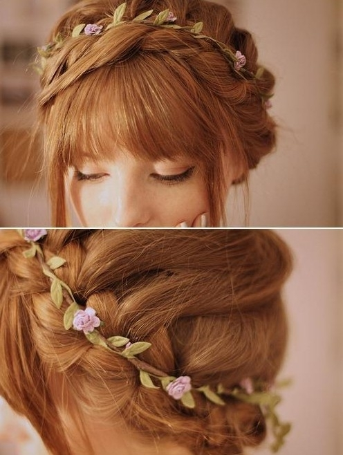 Easy Braided Hairstyles For Updos – Popular Haircuts In Most Recent Easy Braided Updo Hairstyles (View 12 of 15)