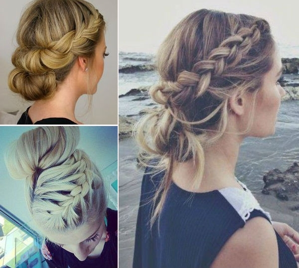 Easy Braided Updos For Long Hair – Hairstyle For Women & Man Pertaining To Most Current Easy Braided Updo Hairstyles For Long Hair (View 7 of 15)