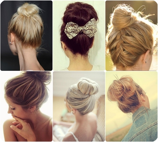 Easy Bun Hairstyles For Long Straight Hair – Hairstylesunixcode Inside Most Recently Easy Updo Hairstyles For Long Straight Hair (View 6 of 15)