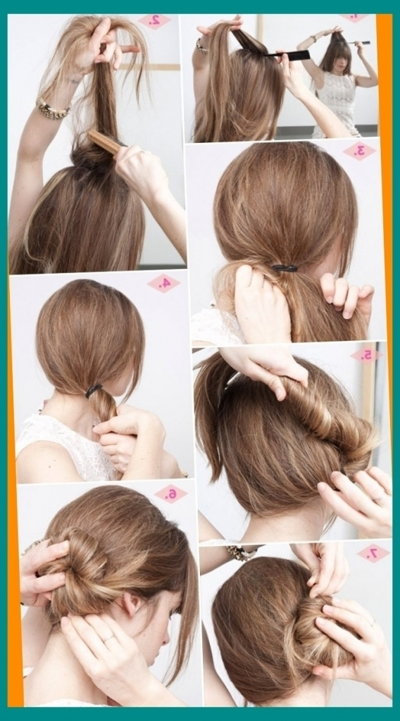Easy Casual Updo Hairstyles 5 Minute Hairstyles Cute Amp Easy Low For Most Up To Date Easy Low Bun Updo Hairstyles (View 9 of 15)
