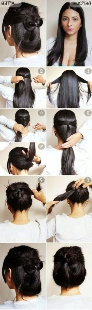 Easy Casual Updo Hairstyles For Long Hair – Popular Long Hairstyle Idea For Most Popular Quick Updos For Long Hair Casual (View 9 of 15)