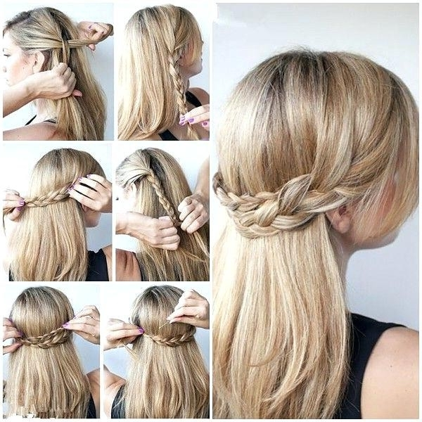 Easy Formal Hairstyles For Long Hair Typical Unique Easy Updo Within Recent Easiest Updo Hairstyles For Long Hair (View 10 of 15)