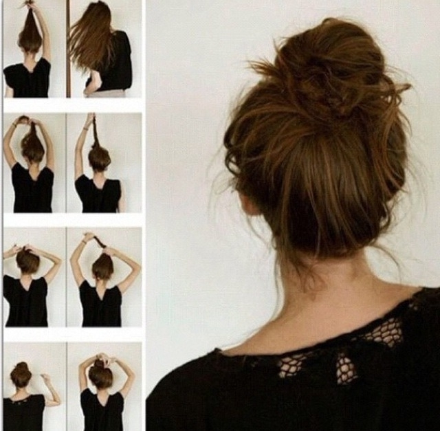 Featured Photo of Updo Hairstyles For School