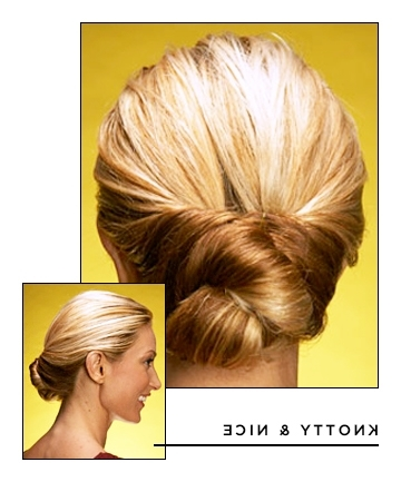 Easy Hairstyles For Long Hair: Pin Curl Twist, 17 Hairstyles That Inside Recent Long Hair Updo Hairstyles For Work (View 6 of 15)