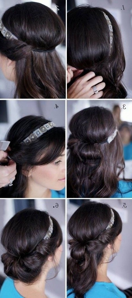 Easy Hairstyles For Medium Length Hair To Do At Home | Medium Length Inside Most Up To Date Easy At Home Updos For Long Hair (View 8 of 15)