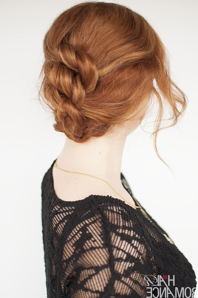 Easy Knotted Hairstyle Tutorial – Hair Romance Throughout Most Up To Date Knot Updo Hairstyles (View 6 of 15)