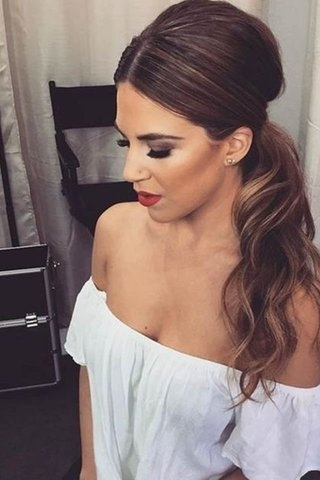 Easy Ponytail Hairstyle Ideas To Update Your Look Throughout Most Up To Date Ponytail Updo Hairstyles (View 8 of 15)