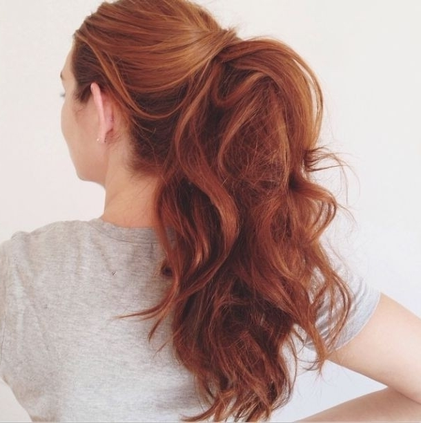Easy Quick Hairstyles For Long Thick Hair – Hairstyle For Women & Man In Current Easy Updo Hairstyles For Thick Hair (View 6 of 15)