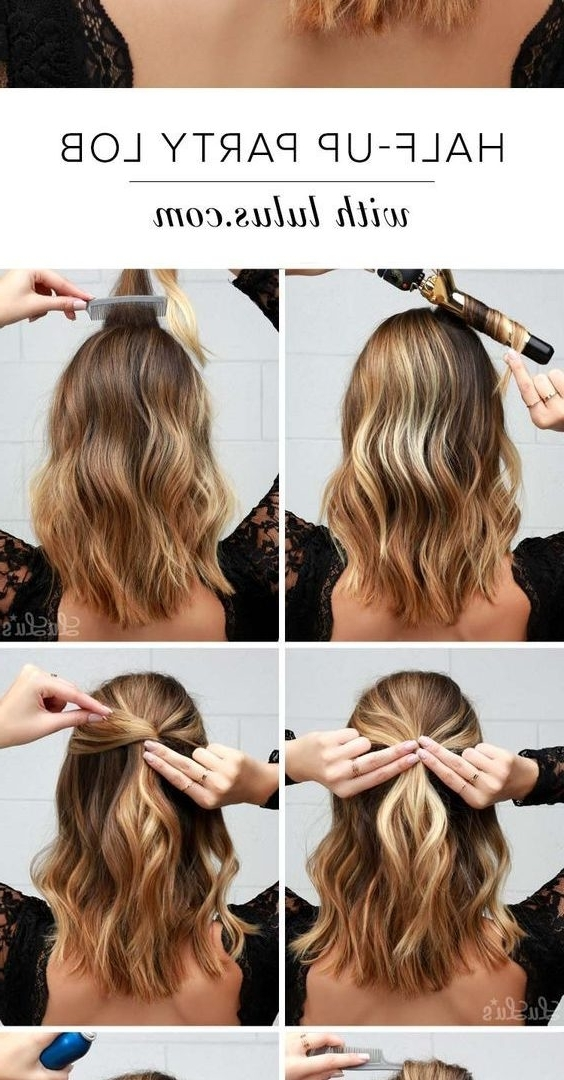 Easy Do It Yourself Updos For Mid Length Hair Daily Health