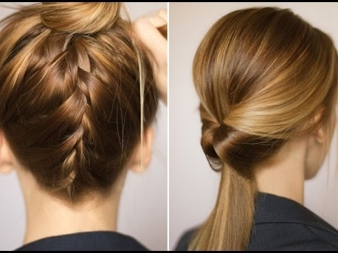Easy Updo Hairstyle For Shoulder Length Hair | Hair Throughout Best And Newest Easy Updo Hairstyles For Medium Length Hair (View 9 of 15)