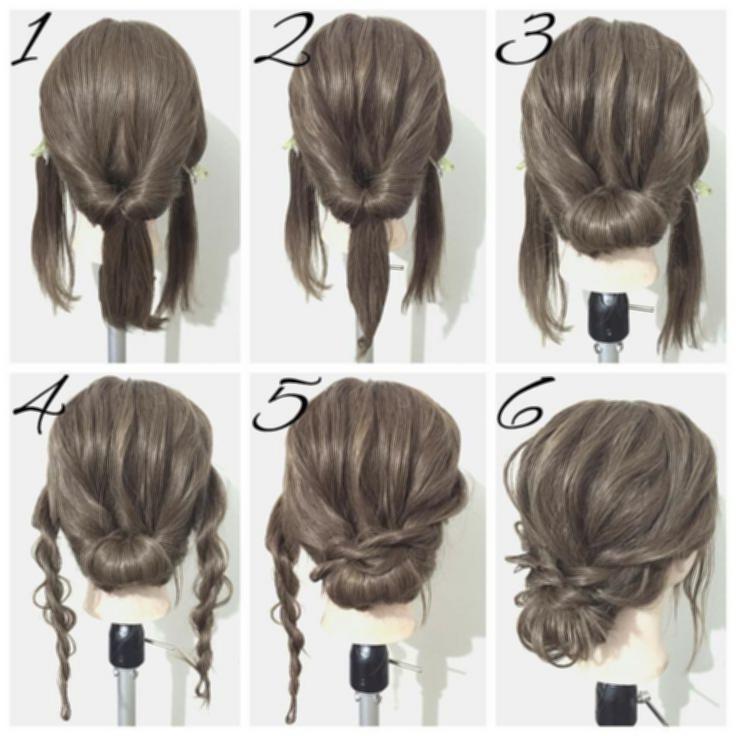 Easy Updo Hairstyles For Women 36183736E8596221B8Bd3799Da4366Ff Easy Inside Newest Easy Hair Updo Hairstyles (View 15 of 15)