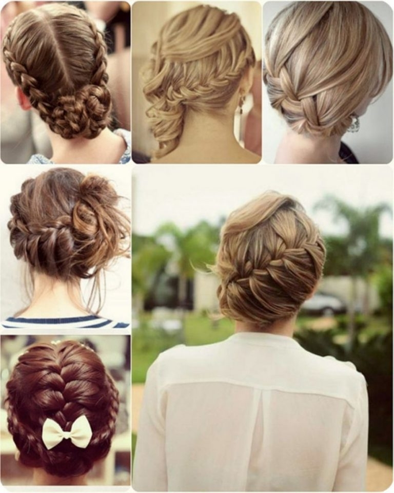 Photo Gallery Of Easy To Do Updo Hairstyles For Long Hair Showing