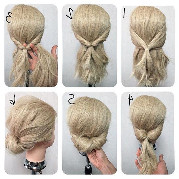 Easy Updo Hairstyles Unique 25 Trending Easy Updo Ideas On Pinterest Regarding Most Recently Easy Updo Hairstyles (View 8 of 15)