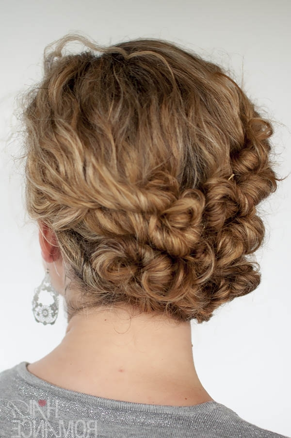 Easy Updos For Long Curly Hair – Hairstyle For Women & Man In Most Recently Easy Updos For Wavy Hair (View 8 of 15)